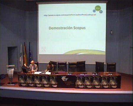 Uso de SCOPUS e SCIVAL para avaliar investigadores e revisores de proxectos  - IX Foro Internacional sobre evaluación de la calidad de la investigación y de la educación superior (FECIES)